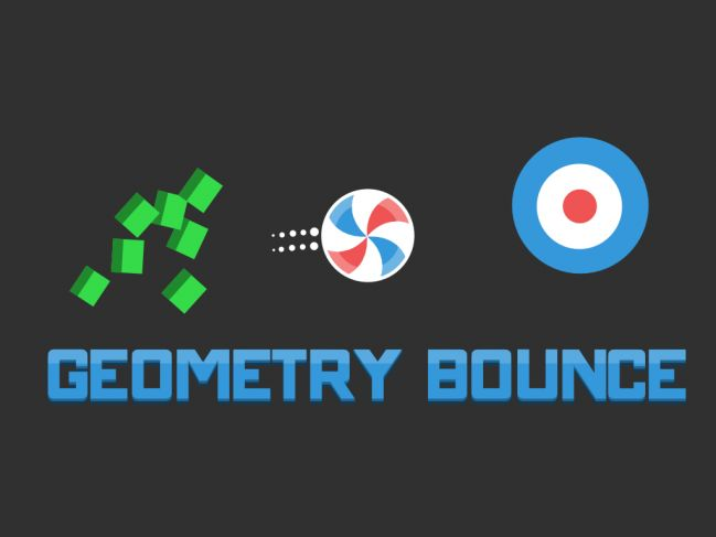 Geometry Bounce - Now available on the App Store and Google Play